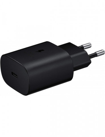 Samsung 25W Travel Adapter wo cable BLACK